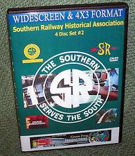 "20256 TRAIN VIDEO DVD ""SOUTHERN RAILWAY VINTAGE PROMO FILMS"" (VOLUME 2) 4-DISC"
