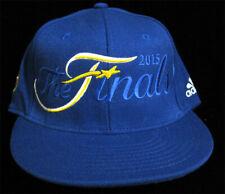 Golden State Warriors 2015 NBA Finals Championship Cap Adidas L/XL Flex Hat Blue