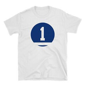 Johnny Bower Shirt Number #1 Shirt Toronto Maple Leafs - White Cotton Shirt - #1