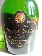 """CHAMPAGNE GRAND SIECLE """"LA CUVEE"""" par LAURENT-PERRIER"""