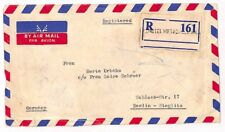 UU164 1960 Pakistan Berlin Germany Cover {samwells-covers}