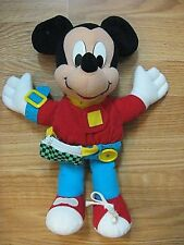 Mickey Mouse Plush Learn to Dress Doll Mattel 1989