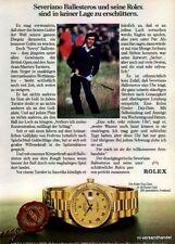 Rolex-DAYDATE-1981-Reklame-Werbung-genuine Advert-La publicité-nl-Versandhandel