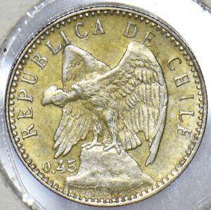 Chile 1915 5 Centavos Condor animal 291206 combine shipping