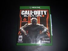Replacement Case (NO GAME) CALL OF DUTY BLACK OPS III 3 XBOX ONE 1 XB1 ORIGINAL