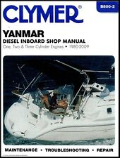 CLYMER YANMAR DIESEL INBOARD 3GM30 SHOP SERVICE REPAIR MANUAL 1980-2009