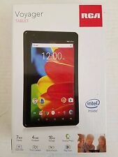 """RCA VOYAGER 7"""" TABLET MULTI TOUCH DISPLAY BLACK"""