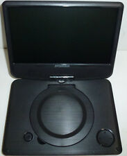 "Sylvania SDVD9000 B2 9""  Portable DVD Player W/ Car Bag/Kit Swivel Screen NEW"