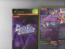 Dancing STAGE UNLEASHED 2 XBOX/X BOX RARO TAPPETO DANCE GIOCO