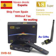 Freesat V8 Super DVB-S2 HD Satellite Tv Receiver Full 1080P+Usb Wifi Support ipt