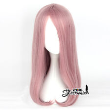 55cm Anime For Little Witch Academia Sucy Mambavaran Long Pink Wavy Cosplay Wig