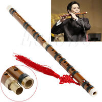 Traditional Chinese Musical Instrument Handmade Dizi Natural Bamboo Flute G Key