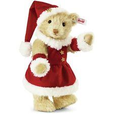 Steiff Mrs Santa Claus Teddy Bear Musical Mohair Limited Edition EAN 021381