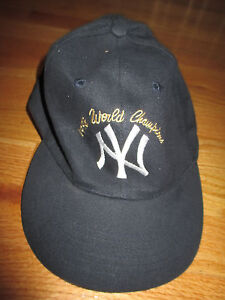 Adidas 1998 World Series NEW YORK YANKEES Champions (Adjustable) Cap DEREK JETER