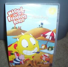 MAGGIE AND THE FEROCIOUS BEAST BEACH PARTY FACTORY SEALED DVD 90 MINUTES