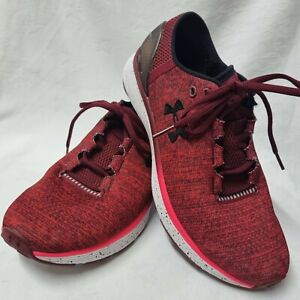 Under Armour Charged Bandit 3 Fitness & Cross Red Unisex Trainers size UK 7