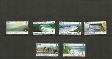 PITCAIRN ISLAND -SG704-709-SCENARY HENDERSON ISLAND 2ND ISSUE -MNH
