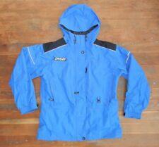 SPYDER Bright Blue Nylon SHELL JACKET Ski Snowboard Winter Coat Women's SIZE 12