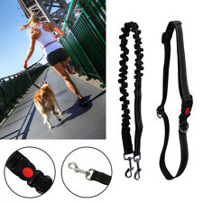 Universal Dog Lead Waist Belt Adjustable Hands For Jogging Walking Running UK