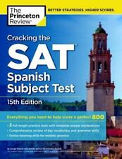 College Test Preparation: Cracking the SAT Spanish Subject Test by Princeton Rev