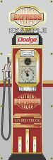 DODGE LIL RED TRUCK EXPRESS OLD GAS PUMP DISPLAY BANNER SIGN MURAL ART 2' X 6'