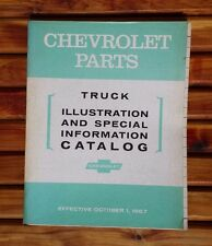 Chevrolet Truck Parts Illustration Special Information Catalog 1967 EUC!
