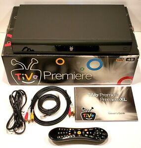 Tivo Premiere Series 4 Full HD 1080P 45 Hours DVR DCR Comes w/ original Box