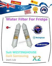 2 X LG, SAMSUNG, WESTINGHOUSE and WHIRLPOOL Fridge Water Filters