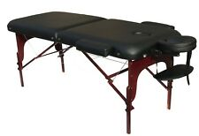 "Deluxe Extra Wide 30""W Professional Portable Massage Table Facial SPA Bed Tattoo"
