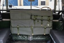 Land Rover Defender and Series Canvas Bulkhead Storage Bag- Khaki Canvas