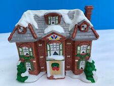 Yuletide Snow Hamlet Georgian Mansion 1989 Ceramic Christmas Decoration #517