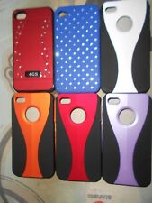 Iphone 4 4s S vista Stripe Ventana Funda