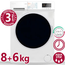 Waschtrockner 8 / 6 kg Waschmaschine Wäschetrockner Trockner Frontlader 1400 U