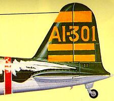 NAKAJIMA B5N KATE IJN Carrier-Borne Torpedo Bomber Vintage Maru Mechanic No. 18