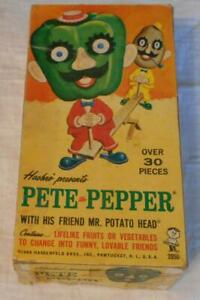 Vintage Hasbro Pete Pepper Figure with Box