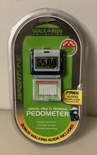 New Sportline Walk Run Collection - Calorie, Step & Distance Pedometer