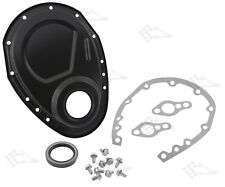 Black Timing Chain Cover Kit - SB Small Block Chevy 283 - 400