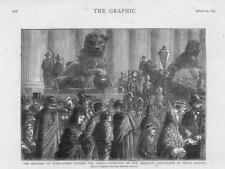 1873 República España impresión Antiguo régimen señor Martos embajador norteamericano (152 A