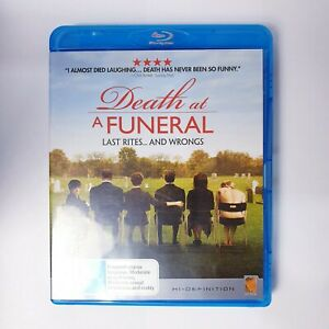 Death at a Funeral Movie Bluray Free Postage Blu-ray - Comedy Drama