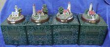 Thomas Kincade Lighthouses Set Of 4-Nib