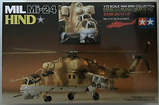 Tamiya 60705 1/72 Scale MIL Mi-24 Hind Model Kit NIB