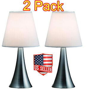 Modern Stand Table Lamps 2 Set Lamps Touch Sensor Bedroom Night Lamp Desk Lights
