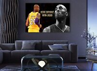 Kobe Bryant  Wall Hole 3D Decal Vinyl Sticker Decor Room Smashed Lakers Legend