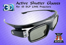 3D Active Shutter Glass For 3D DLP Link Projector ( Rechargeable )