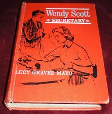 Wendy Scott Secretary Lucy Graves Mayo RARE Vintage Young Adult Teenage Fiction