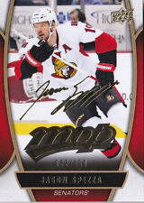 13-14 UD MVP Jason Spezza /100 Gold Script Senators Upper Deck 2013