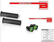 BARRACUDA MANOPOLE BASIC + CONTRAPPESI B-LUX VERDI KAWASAKI Ninja 600 ZX-6R / RR