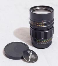 Vintage Soligor 85mm f/1.8 Preset Lens T Mount 16 Aperture Blades Bokeh tthc