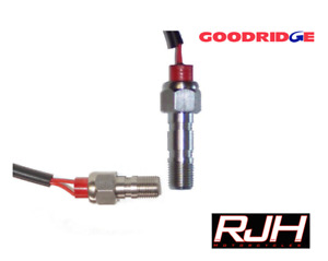 Goodridge Stainless Steel Banjo Bolt Brake Light Switch.