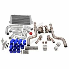 Cx Twin Turbo Bottom Mount Header Intercooler Kit For 2015 Ford Mustang Gt 50